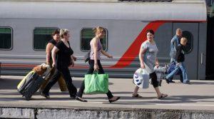 Правила провоза багажа на поезде Сапсан