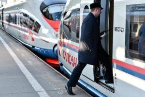 Электронная регистрация на поезд Сапсан