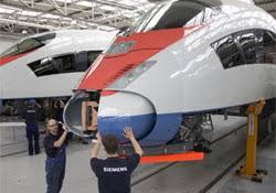 Технические характеристики поезда Сапсан