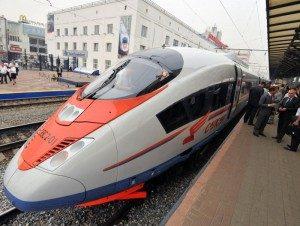 Правила посадки в поезд Сапсан
