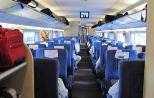 Подробно о пассажирских местах в Сапсане