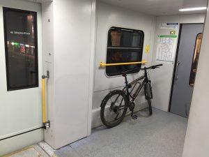 Как провезти велосипед в Сапсане