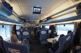 Вагоны по классам в поезде Сапсан