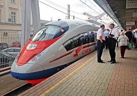 Стоимость билетов на поезд Сапсан из Москвы в Санкт-Петербург