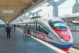 Комфорт и скорость - поезд Сапсан