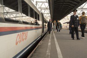 Растут перевозки пассажиров на Сапсане