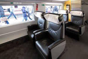 Оборудование вагонов бизнес-класса