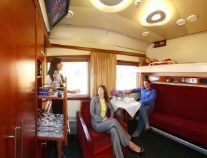 Услуги в вагоне бизнес-класса