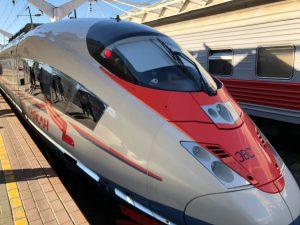 Новый поезд Сапсан